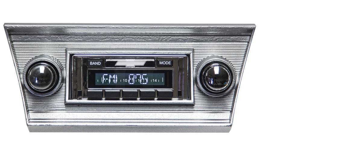 69-72 Chevy El Camino NEW USA-630 II* 300 watt AM FM Stereo Radio iPod USB Aux