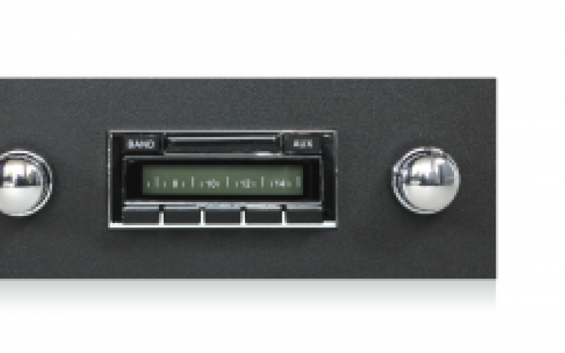 67-68 Firebird Radio 6x9/'s *230  w//AC Black Stereo Dash Replacement Speaker